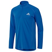 image: adidas Sequencials Half-Zip Long Sleeve Tee X19444