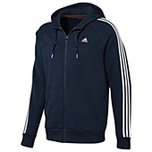 image: adidas Essentials 3-Stripes Full-Zip Hoodie X20775