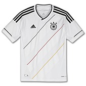 image: adidas Boys 8-20 Germany Home Jersey X21787