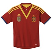 image: adidas Spain Home Jersey X53322