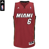 image: adidas Heat LeBron James NBA Swingman Jersey Y63080