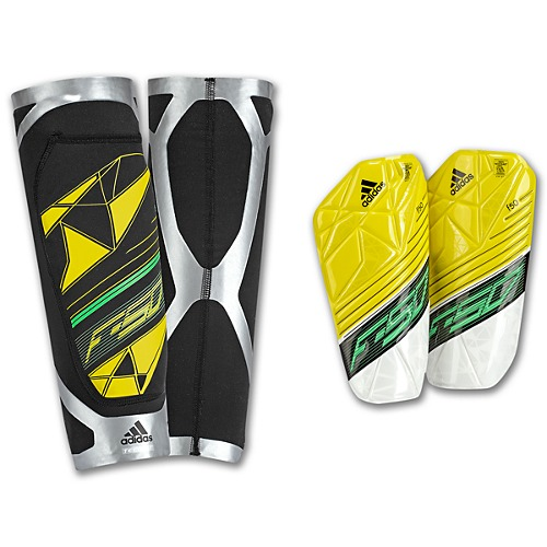 image: adidas F50 Techfit Shin Guards Z19179