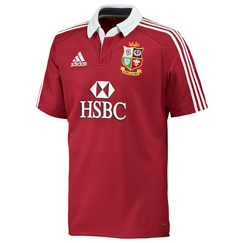image: adidas British and Irish Lions Short Sl Jersey Z21746