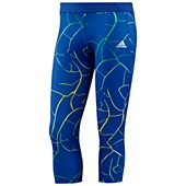 image: adidas Techfit Three-Quarter Shatter Print Tights Z21936