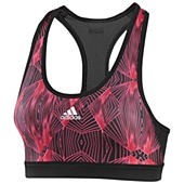 image: adidas Techfit Tension Moire Bra Z21987
