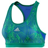 image: adidas Techfit Tension Moire Bra Z21988