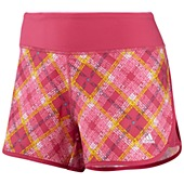 image: adidas Powerluxe Plaid Shorts Z22083