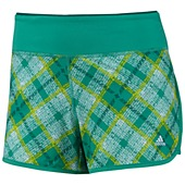 image: adidas Powerluxe Plaid Shorts Z22084