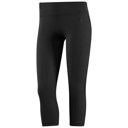 image: adidas Powerluxe No-Fuss Three-Quarter Tights Z23388