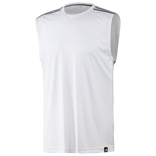 image: adidas 3-Stripes 2.0 Sleeveless Tee Z23564