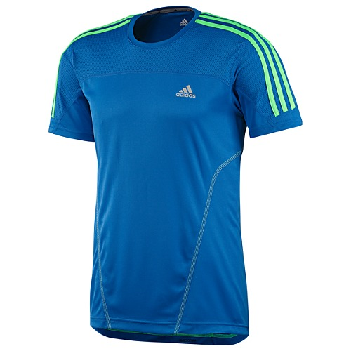 image: adidas Response 3-Stripes Short Sleeve Tee Z27410