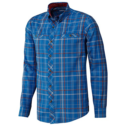 image: adidas Silas Long Sleeve Plaid Shirt Z28921