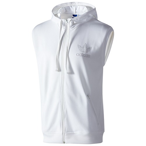 image: adidas Sleeveless Hooded Track Top Z32883