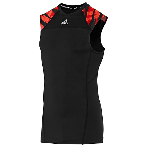image: adidas Compression Sleeveless Camo Tee Z33499