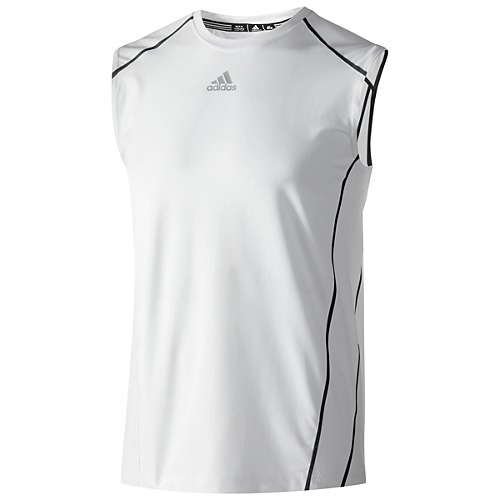 image: adidas Fitted Sleeveless Top Z33536