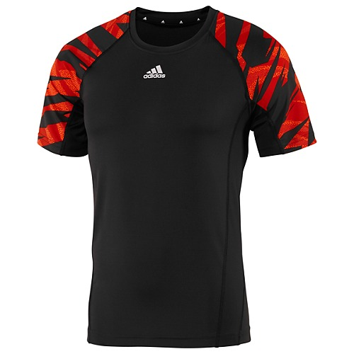 image: adidas Fitted Short Sleeve Camo Shirt Z33542