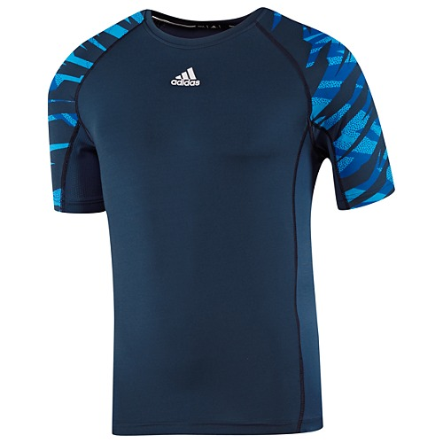 image: adidas Fitted Short Sleeve Camo Shirt Z33543