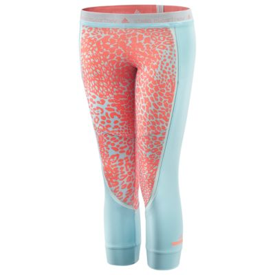 Run Three-Quarter Printed Tights