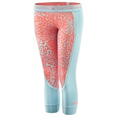 image: adidas Run Three-Quarter Printed Tights Z38630