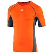 image: adidas Fitted Short Sleeve Tee Z40202