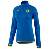 image: adidas Boston Marathon Half-Zip Fleece Jacket Z56045