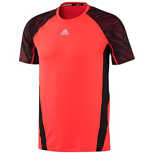image: adidas Short Sleeve Fitted Shirt Z63016