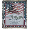 Soldier's Prayer Personalized Afghan