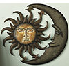 Sun + Moon Wall Decor