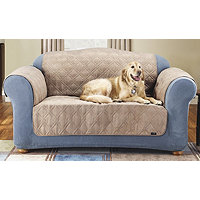 Sure Fit Quilted Suede Sofa Pet Throw