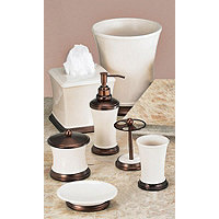 Phoenix 4 pc Acc. Set - Beige / Copper