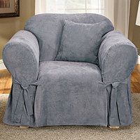 Sure Fit Classic Soft Suede Chair Slipcover