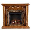 Southern Enterprises Caron Electric Fireplace