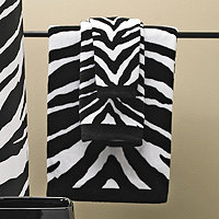 Zebra Bath Collection