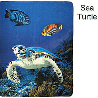 Fleece Blanket - Sea Turtle