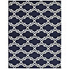 Garland Rug Silhouette 8x10 Area Rug – Blue