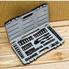 Stanley 69pc Black Chrome Socket Set