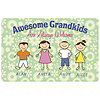 Personalized Awesome Grandkids Door Mat