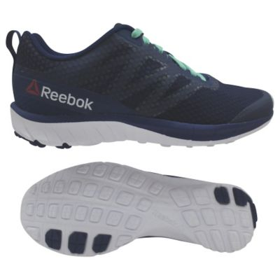 Reebok Womens SoQuick Running Shoe GrayPink8.5