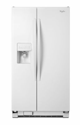 Whirlpool Side-By-Side Refrigerator White photo