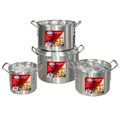 Stock pot usa for Alpine cuisine cookware set
