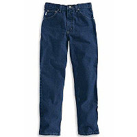 Carhartt® Relaxed Fit Tapered Leg Jean (Darkstone)