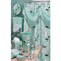 Avanti 8pc Bath Collection - Aqua