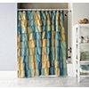 Carmen Ruffled Shower Curtain 3 pc. Set