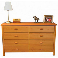 8 Drawer Lowboy Nouvelle Chest