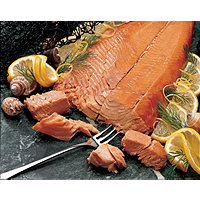 Smoked Lemon/Pepper Sockeye Salmon-8 oz