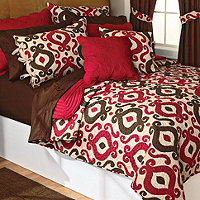 Save 45% Logan Printed Twin Quilt Set