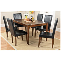 "63"" Dining Table + Chairs Coffee"