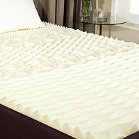 5 Zone Full Memory Foam Topper