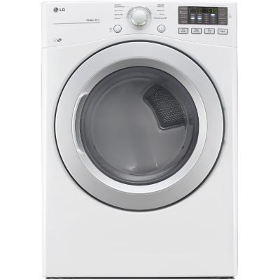 LG 7.4 Cu. Ft. Ultra Large High-Efficiency Electric Dryer - White photo