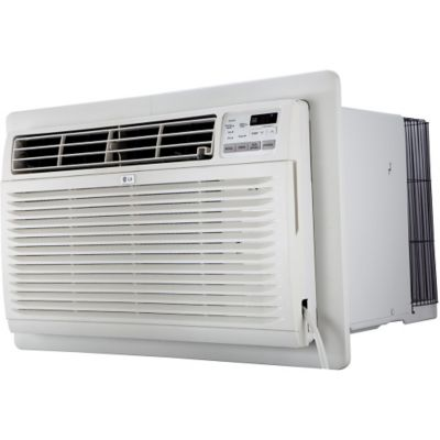 LG LT1236CER 11500 BTU 230V Through-the-Wall Window Air Conditioner with Remote - White White photo